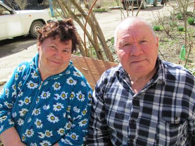 Владимир Марков и Вера Ильинична