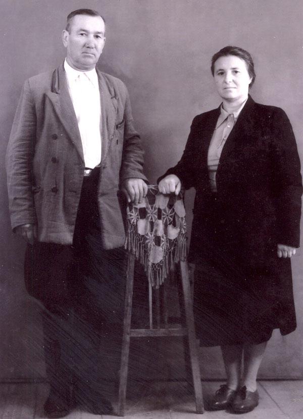 Супруги Ефим и Евдокия Пустоваровы