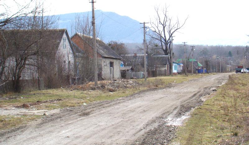 Центральная улица Самурской