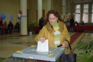 Валентина Шейнина пришла на избирательный участок,уверенная в своем выборе