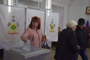 Елена Романова всегда старается проголосовать как можно раньше