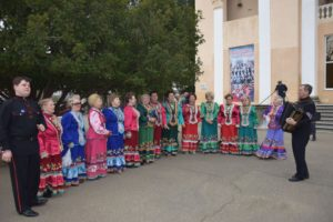по участку 0321 г.Хадыженска разливаются голоса Родных напевов