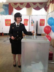 Братчикова Ирина,капитан внутренней службы МВД России