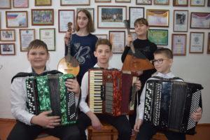 Воспитанники Апшеронской детской музыкальной школы