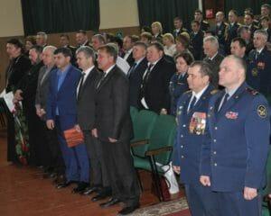 коллектив исправительной колонии №9 города Хадыженска