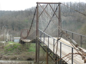 Навесной мост через Пшиш
