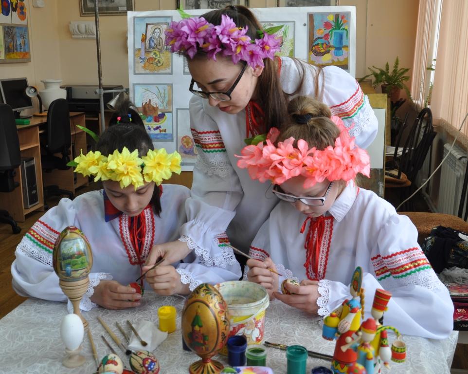 Воспитанники детской художественной школы города Хадыженска