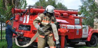 Пожарные Хадыженска