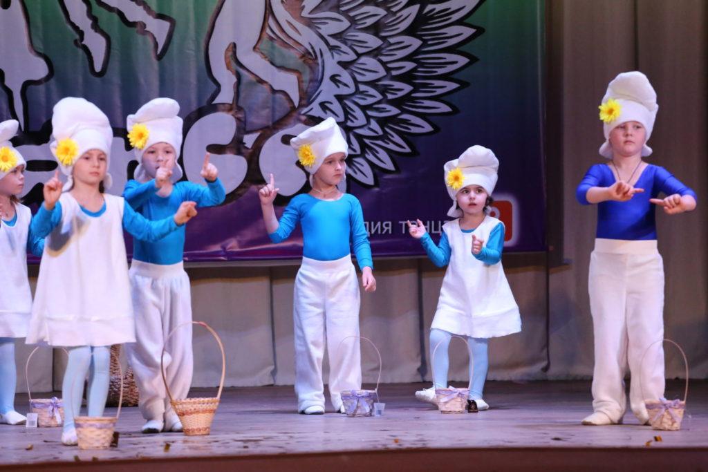 Юные воспитанники танцевальной студии «OE-Dance»