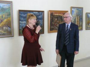 ыставка художника Николая Бородавко
