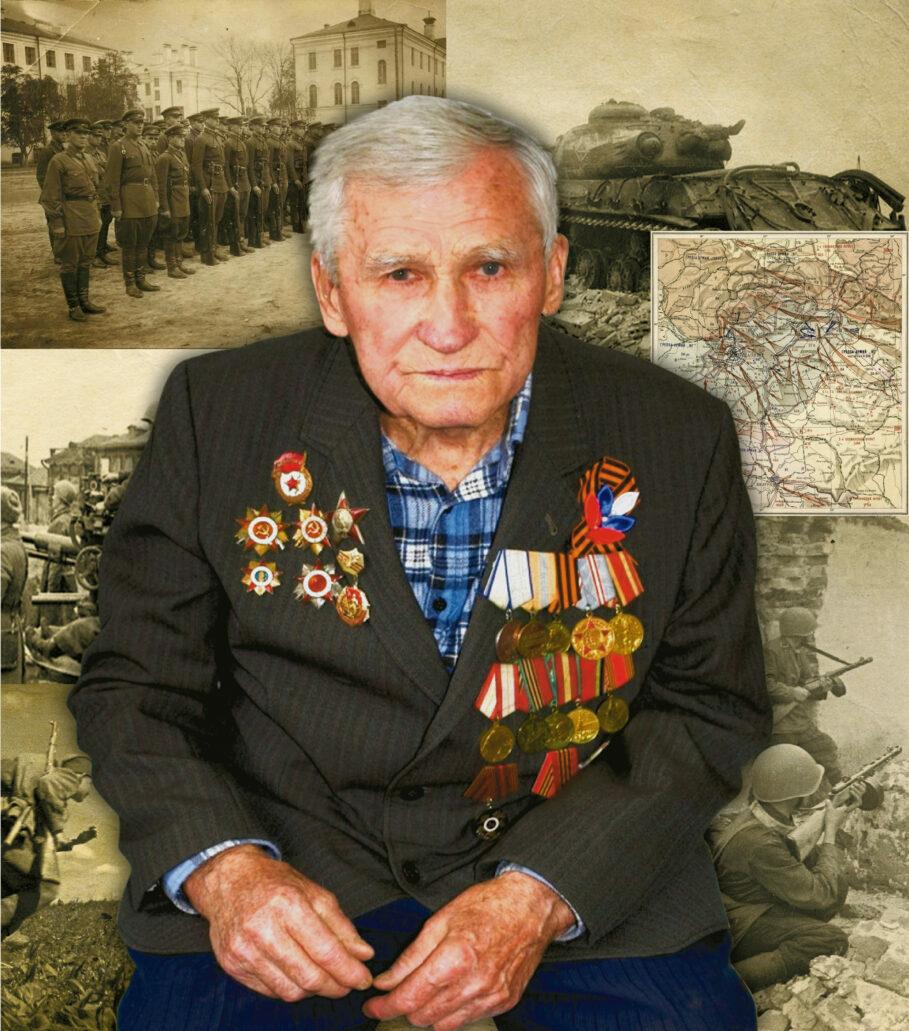 Участник Великой Отечественной войны — Михаил Кирша